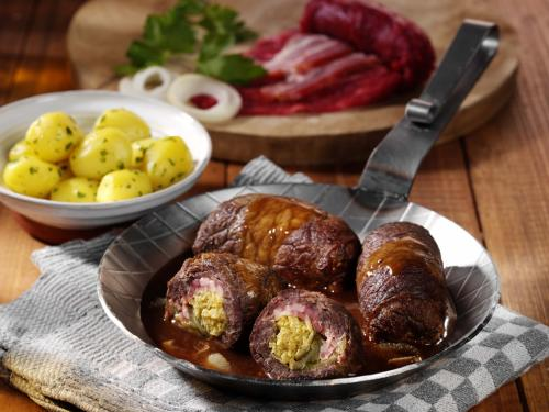 "Beef roulade ""home-made style"", laid filling, approx. 240 g"