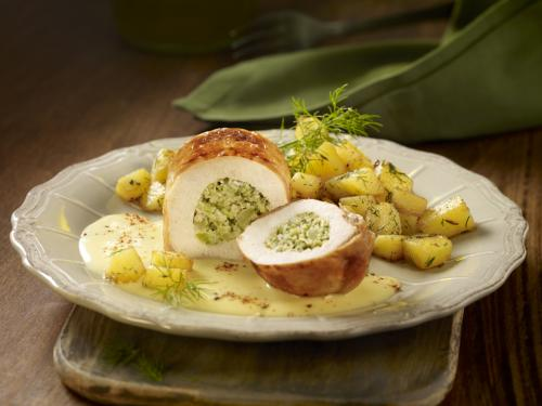 "Hähnchen-Filetroulade ""Broccoli"", ca. 180 g"