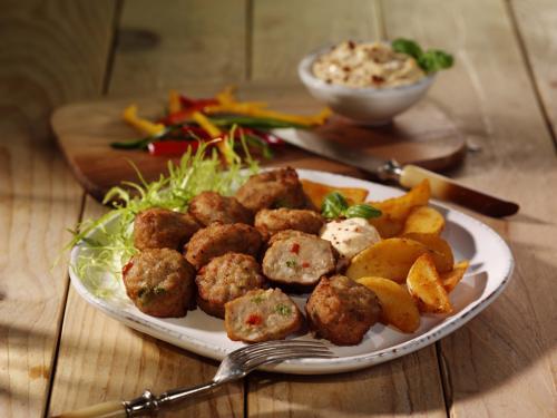 "Meatballs ""Puszta"", cooked & browned, approx. 20 g"
