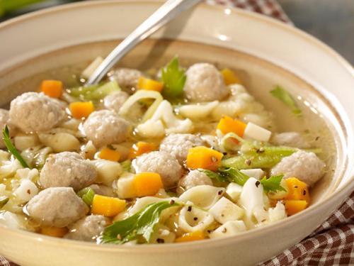 Suppenklößchen, rein Geflügel, ca. 4 g